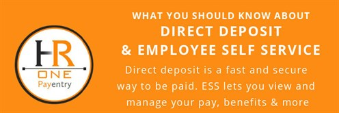 Direct Deposit Ess Small Banner