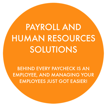 Payroll And Human Resources Home Graphic