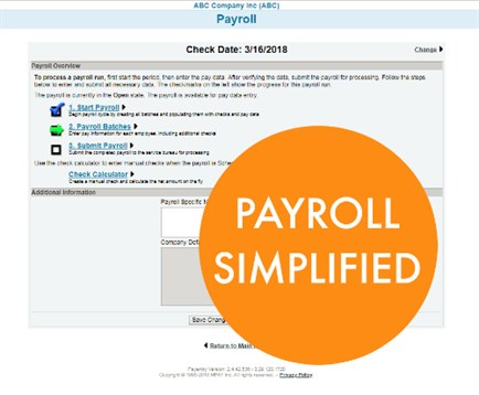 Payroll Batch